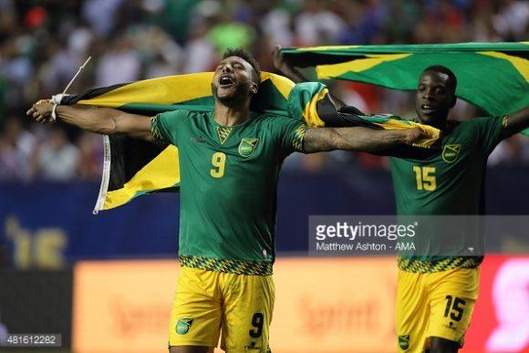 A seleção jamaicana venceu os Estados Unidos nas semifinais da última edição da Copa Ouro, em 2015.