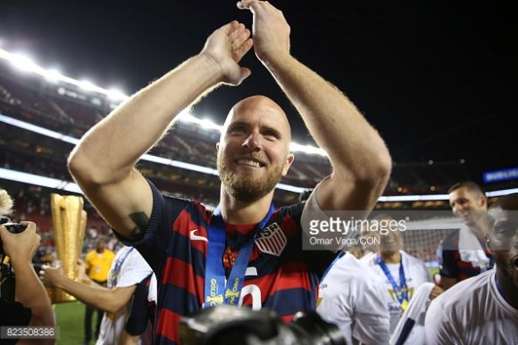 O capitão dos Estados Unidos, Michael Bradley, foi eleito pelos organizadores, o melhor jogador da Copa Ouro 2017.