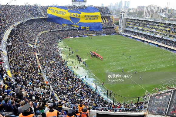 A performance da Argentina na La Bambonera é muito boa, no estádio do Boca Juniors os argentinos sustentam a média de 75% de aproveitamento.