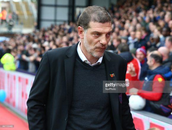 O treinador Slaven Bilic foi demitido após dois anos e meio à frente do West Ham.