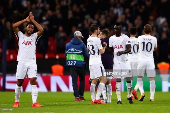 Na rodada anterior da Champions League, o Tottenham atropelou o Real Madrid, derrotando os atuais bicampeões europeus, por 3 a 0