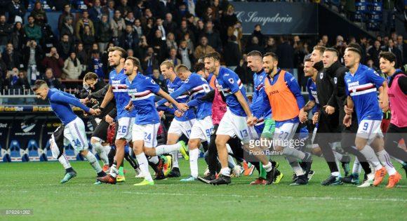 No final de semana passado, a Sampdoria de Marco Giampaolo, derrotou a atual hexacampeã italiana, Juventus, por 3 a 2 no estádio Luigi Ferraris.