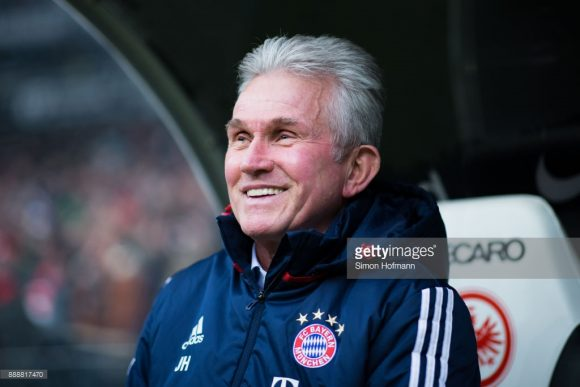 O treinador Jupp Heynckes é o grande responsável pela volta por cima do Bayern Munique.