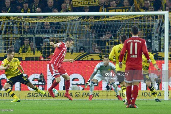 O confronto entre Bayern Munique x Borussia Dortmund
