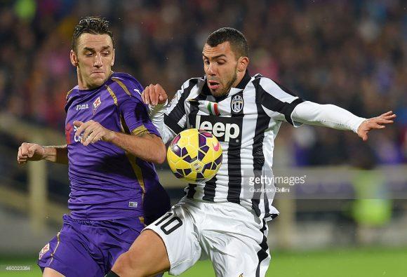 O último jogo entre Fiorentina e Juventus na noite de uma sexta-feira, ocorreu em 2014.