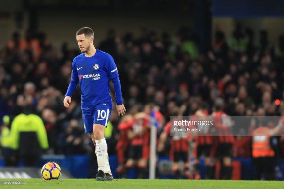 Hazard vive excelente fase no Chelsea.