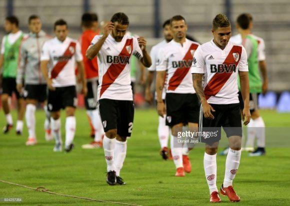 River Plate vai de mal a pior.