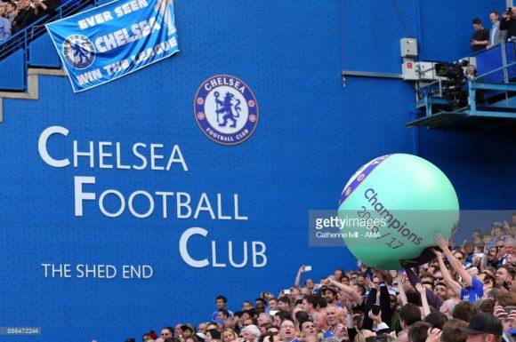 Chelsea campeão da Premier League 2016/17.