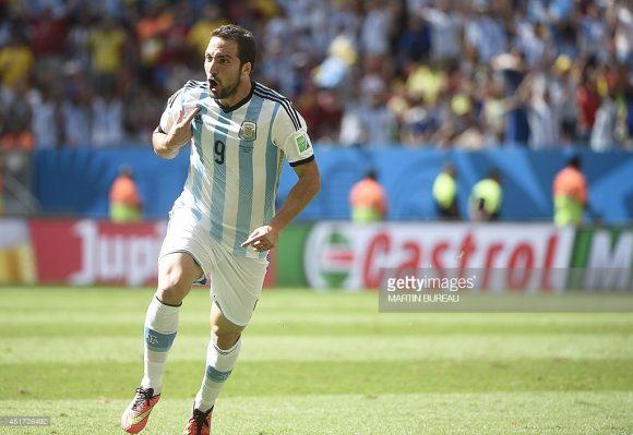 O atacante Gonzalo Higuaín voltou a ser convocado após longos