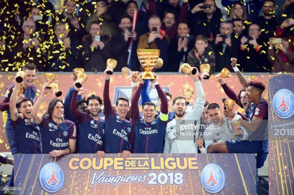 No último sábado, o consagrou-se pentacampeão da Copa da Liga Francesa.