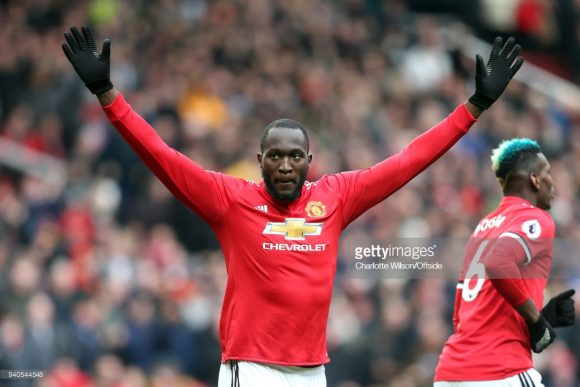 O belga Romelu Lukaku é o artilheiro do Manchester United na Premier League com 15 tentos.