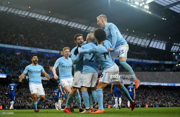 O Manchester City está bastante próximo de conquistar o título de campeão inglês pela quinta vez na história, sendo o terceiro na era Premier League.