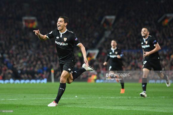 Wissam Ben Yedder é o grande destaque do Sevilla na Champions League, o francês é o artilheiro do time espanhol no torneio com oito gols marcados.