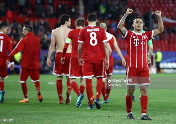 Caso o Bayern Munique se classifique, os hexacampeões alemães disputarão a sexta semifinal nas últimas sete edições da Champions League.
