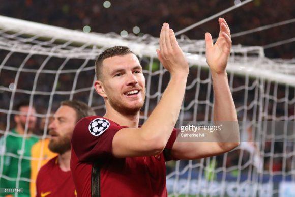 Edin Dzeko é o grande destaque da Roma. Somente nesta temporada, o atacante bósnio já balançou as redes 28 vezes.