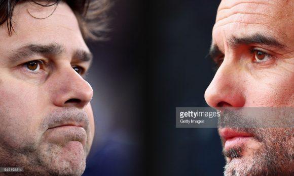 Mauricio Pochettino e Pep Guardiola já duelaram 12 vezes até hoje.