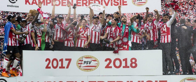 PSV Eindhoven, campeão holandês 2017/18