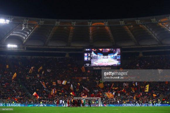 A Roma é a única semifinalista da Champions League que jamais ergueu a taça da competição. Será esse o ano do tão sonhado título europeu dos giallorossis?