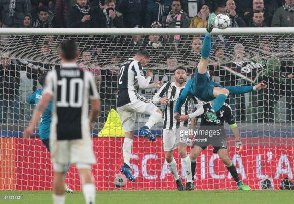 O português Cristiano Ronaldo foi autor de uma verdadeira obra prima na última terça-feira em Turim. O craque é o artilheiro do real Madrid na La Liga com 22 gols.