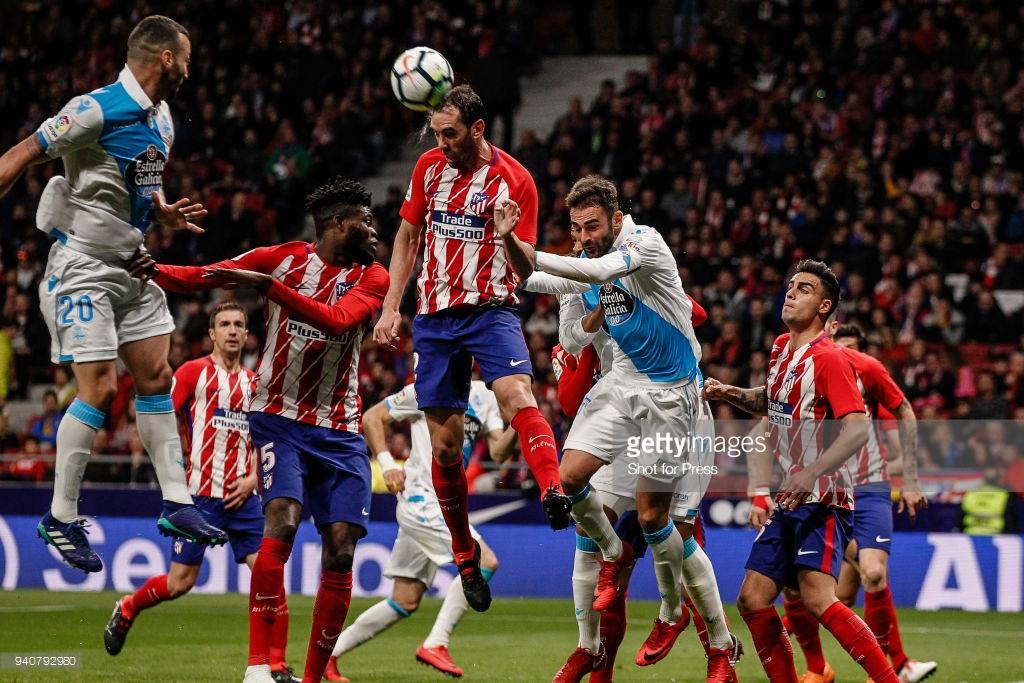 O Atlético Madrid é dono da melhor defesa da La Liga com apenas 14 gols sofridos em 30 partidas realizadas.