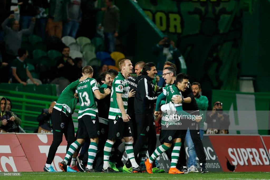 Há três semanas, o Sporting Lisboa derrotou o Porto nos pênaltis e ergueu o título da Copa de Portugal 2017/18. Por esta razão, a confiança anda em alta pelos lados do Josè Alvalade.