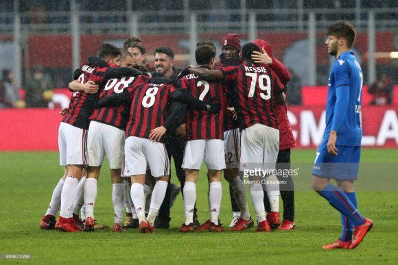 Apesar de ter investido a bagatela de 194,5 milhões de euros em reforços, o Milan ocupa apenas a sexta posição do Calcio.