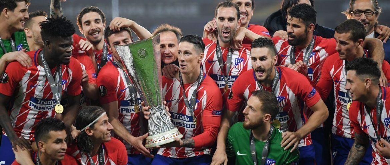Atlético Madrid, campeão da Europa League 2017/18