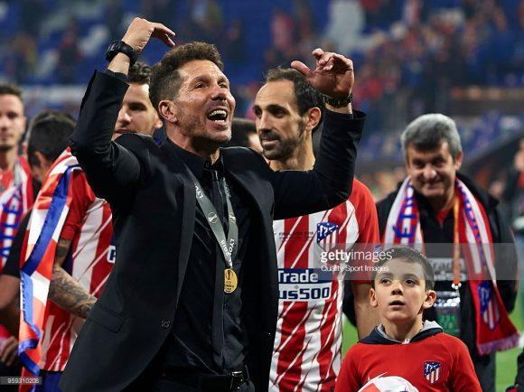 Cholo Simeone é sem sombra de dúvidas um dos maiores ídolos do Atlético Madrid.