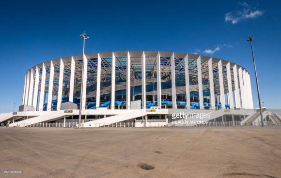 Casa do FC Olimpiyets Nizhny Novgorod, modesto clube russo que terminou na 12ª posição da segunda divisão do campeonato nacional.