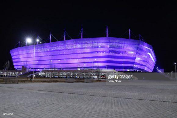 O Kaliningrad Stadium é a nova propriedade do FC Baltika Kaliningrad, equipe que disputa a segunda divisão russa.