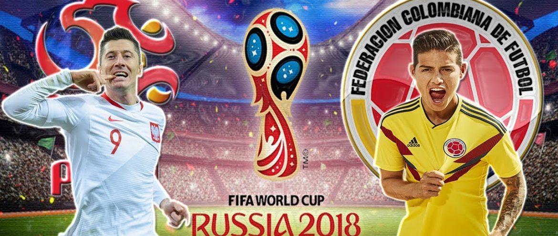 Polônia x Colômbia