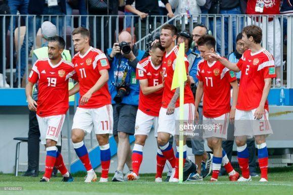 Por incrível que pareça, a Rússia é dona do segundo melhor ataque da Copa ao lado da Inglaterra com oito tentos marcados, sendo superado apenas pela Bélgica que contabiliza nove gols.