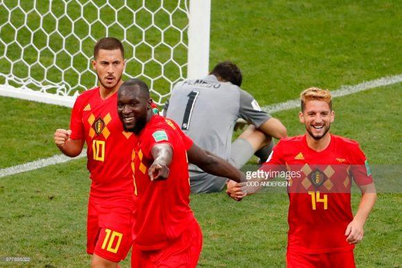 Com Eden Hazard, Romelu Lukaku e Dries Mertens, a Bélgica é dona do melhor ataque da Copa do Mundo até o momento com 12 gols marcados.