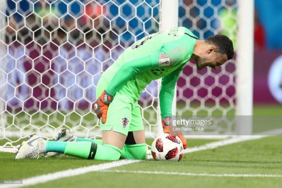 Até o goleiro da Croácia, Danijel Subasic, sofreu com problemas musculares no jogo contra a Rússia.