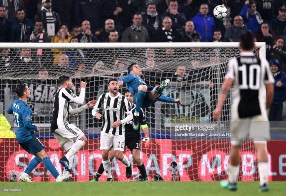 Curiosamente, foi no Juventus Stadium que Cristiano Ronaldo marcou um dos gols mais bonitos de sua carreira. A partida era válida pelas quartas de final da última edição da Champions League.