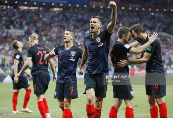 A Croácia é a primeira seleção na história, que disputou três prorrogações em uma única edição da Copa do Mundo.