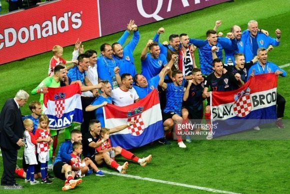 Guerreiros: com as três prorrogações disputadas, os croatas jogaram uma partida a mais que os franceses nesta Copa do Mundo.