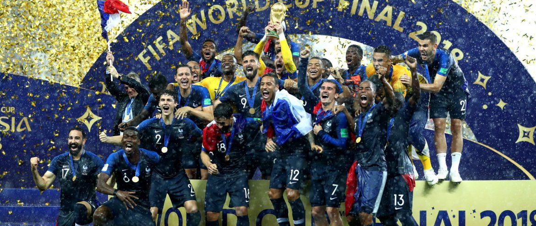 França, bicampeã mundial