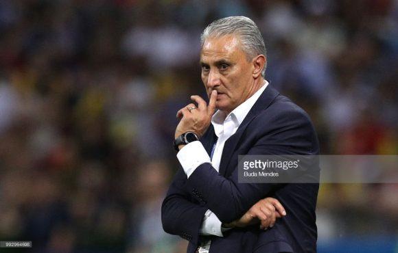O revés diante da Bélgica, foi o primeiro de Tite no comando da seleção brasileira em jogos válidos por torneios oficiais.