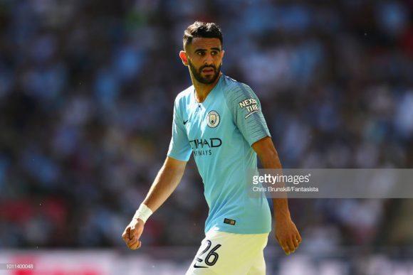 O argelino Riyad Mahrez, campeão inglês com o Leicester em 2016, foi a contratação mais cara da história do Manchester City até aqui.