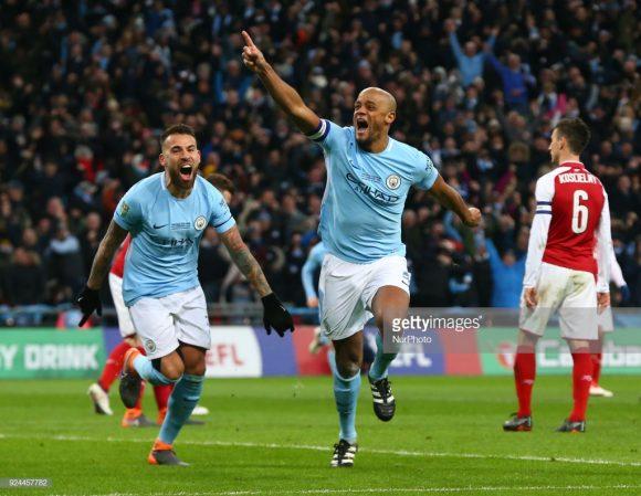Curiosamente, Arsenal e Manchester City disutaram a final da Copa da Liga Inglesa na temporada passada. E como tem acontecido recentemente, os Citizens venceram os Gunners (3 x 0) sem encontrar dificuldades.