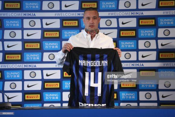 A Inter depositou a bagatela de 38 milhões de euros (cerca de R$ 168 milhões) para contratar o belga Radja Nainggolan, cujo o contratp é válido por duas temporadas. Esta foi a maior negociação feita pelos nerazzurris nesta janela de transferências.