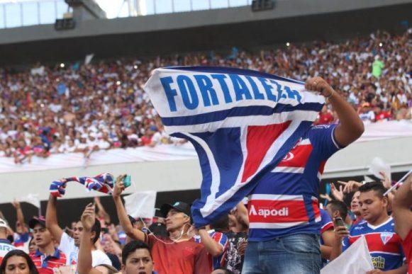 De bem com o time: o Fortaleza tem a melhor média de público da Série B com 20 mil torcedores por jogo.