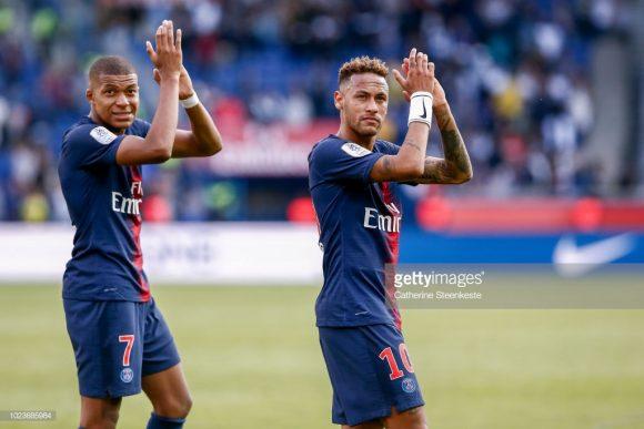 Os atacantes Kylian Mbappé e Neymar, lideram a artilharia da Ligue 1 com 4 gols cada.