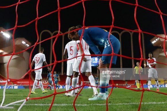 Em sete jogos disputados pela Ligue 1 até aqui, o Monaco marcou apenas oito gols e foi vazado em nove oportunidades.