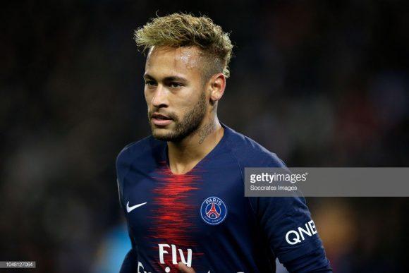 A partida frente o Napoli será a 50ª de Neymar pela Champions League.