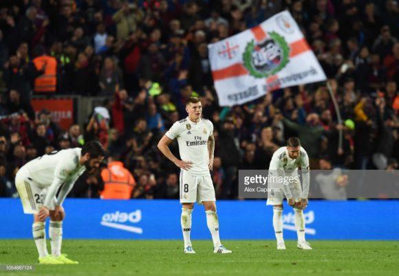 As recentes derrotas para o Sevilla (3 x 0), CSKA Moscou (1 x 0), Alavés (1 x 0), Levante (2 x 1) e Barcelona (5 x 1), marcam a péssima passagem de Julen Lopetegui no comando madridista.