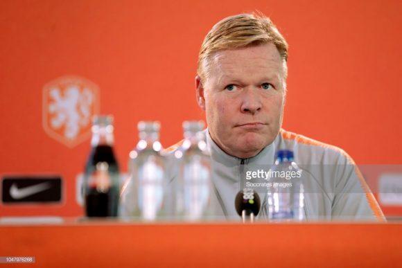 O início de Ronald Koeman à frente da seleção holandesa é razoável, visto que a ele coleciona