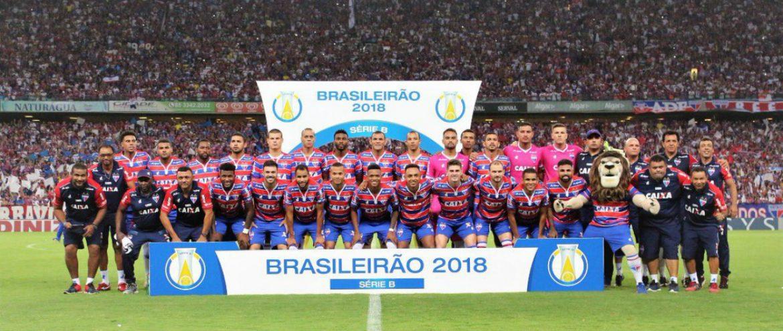Fortaleza, campeão da Série B 2018