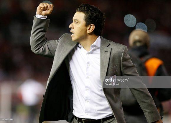 No comando do River desde 2014, o treinador e ídolo Marcelo Gallardo corre atrás de sua segunda Copa Libertadores na carreira.